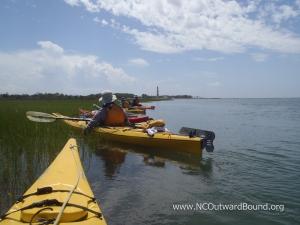 Veterans Sea Kayaking Trip, Outer Banks, North Carolina, courtesy North Carolina Outward Bound School