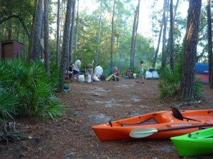 The Campsite over Big Shoals is perhaps the best in Florida