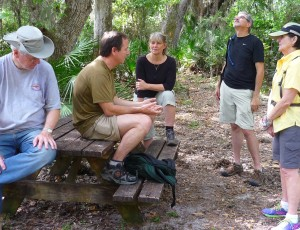 Earlier this spring we scouting the gorgeous Paula Dockery Trail (Greg, Andy, Sharon, Barry and Paual)